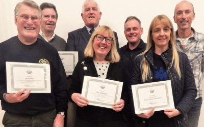 Swanage Nominees for Purbeck Volunteer of the Year 2018