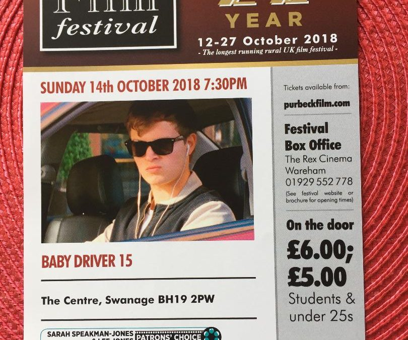 Purbeck Film Festival @ The Centre – Baby Driver