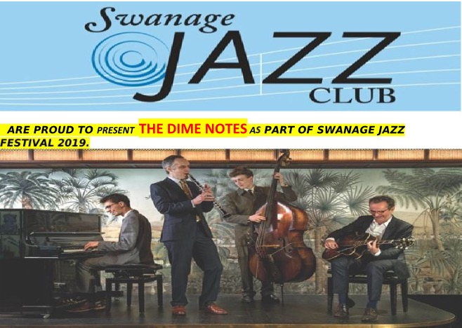 Swanage Jazz Club @ Swanage Jazz Festival- The Dime Notes